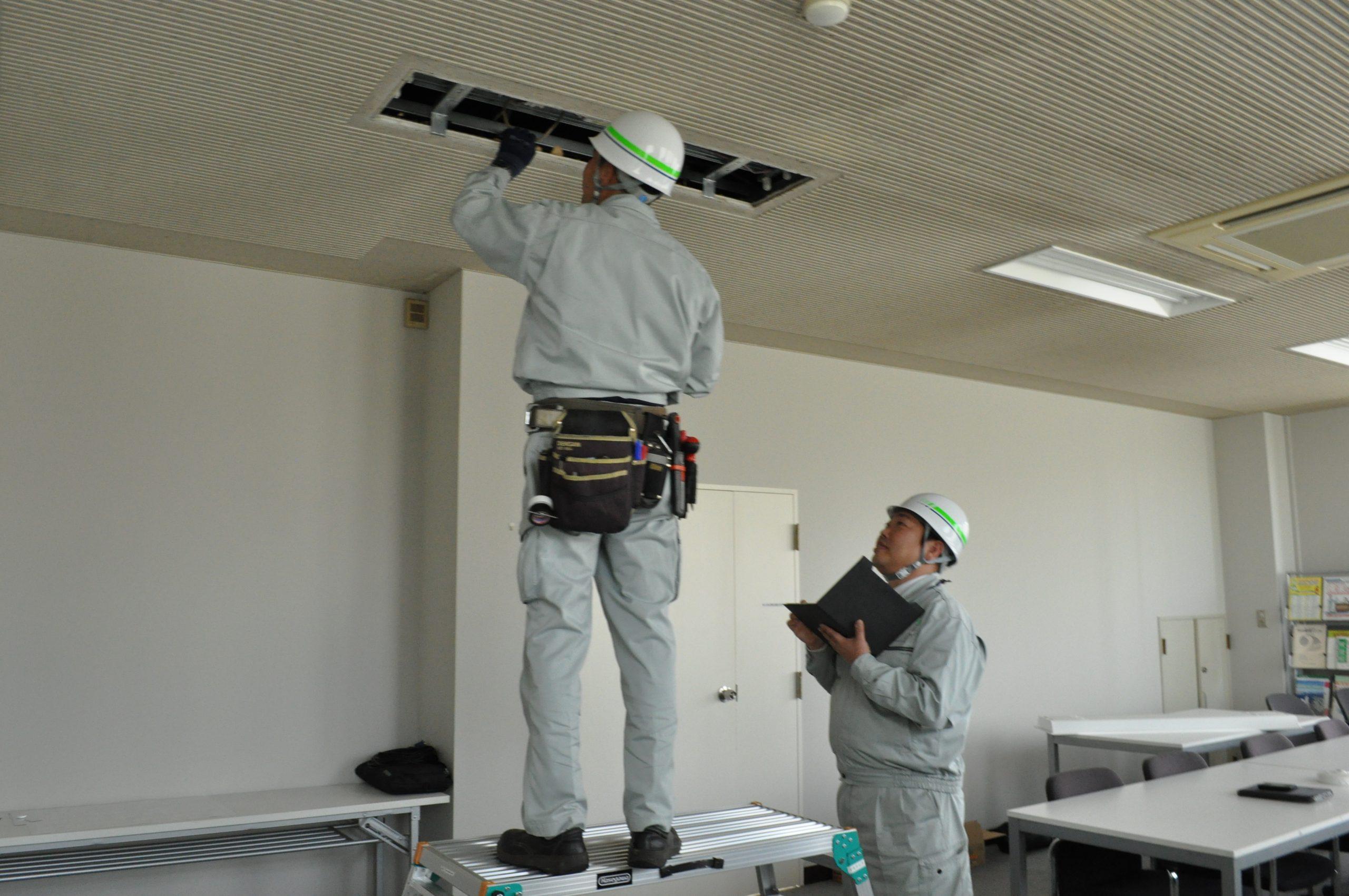 電気設備の施工管理者